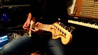 Deep Purple - Place in line guitar solo cover