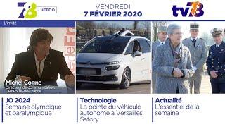 7/8 L'Hebdo. Edition du vendredi 7 février 2020