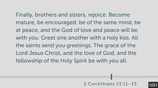 2 Corinthians 13 [Daily Bible Study]