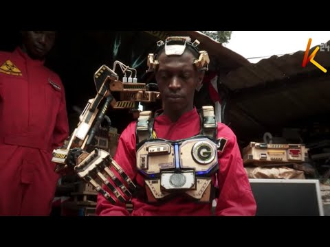 Two gifted Kenyans make robotic arms for persons with disabilities; they have no college education
