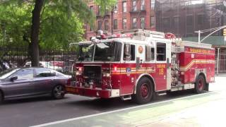 FDNY Squad 18 Gets Blocked