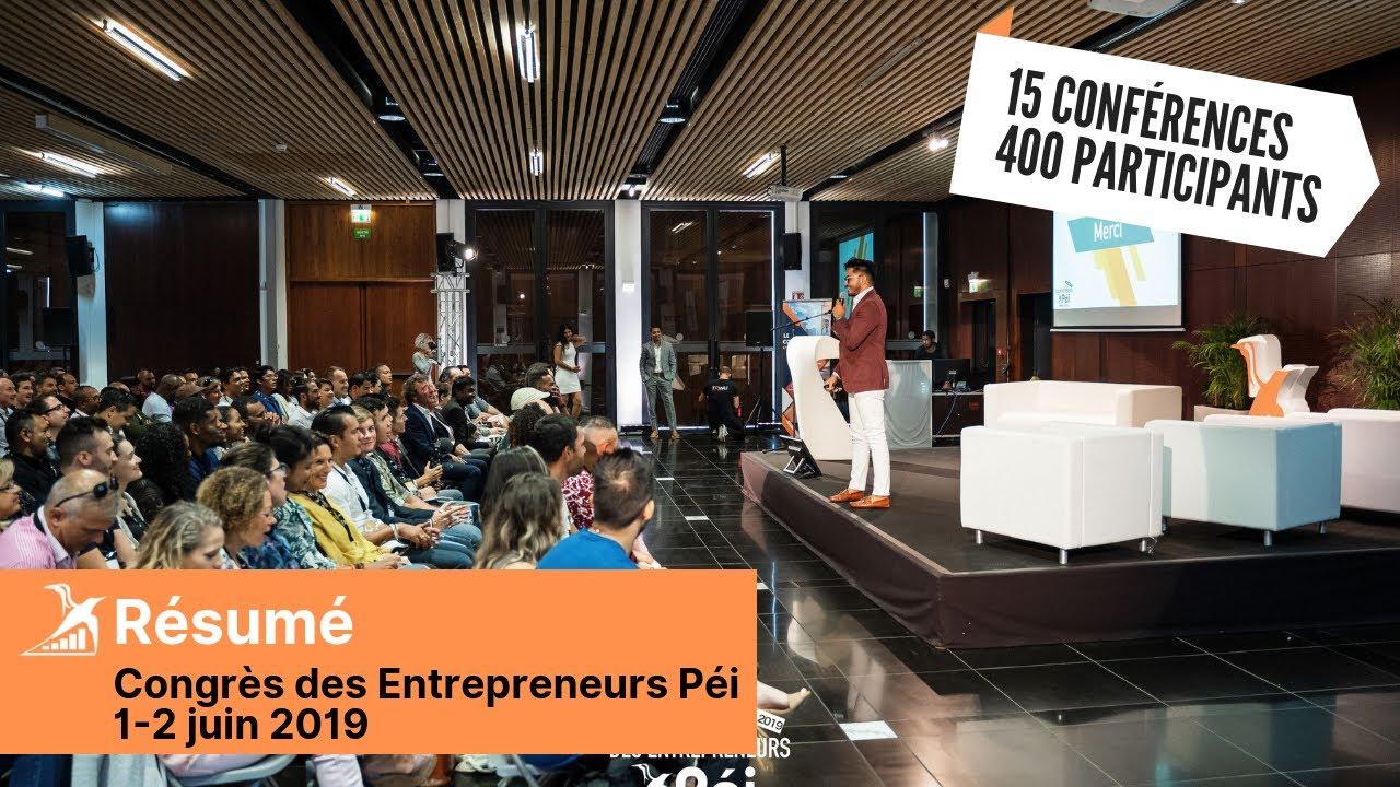 Résumé Congrès des Entrepreneurs Péi 2019