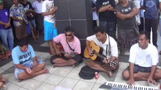 Samoan Blind Band 3 - Funny Kauaso - Apia Samoa