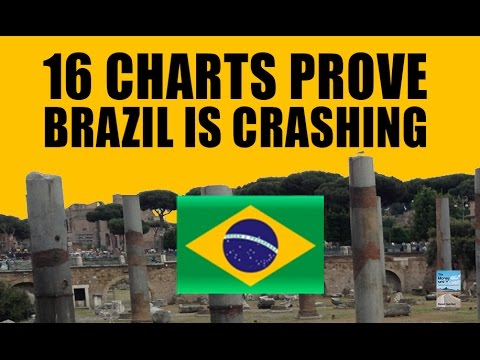 16 Charts Prove Brazil Economy is Crashing! Global Domino Effect!
