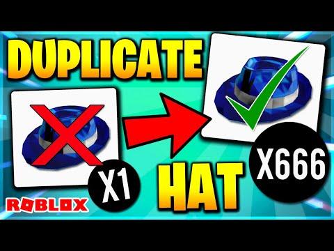 ROBLOX DUPLICATE HAT GLITCH! HOW TO DUPLICATE ITEMS IN ROBLOX! (ROBLOX)