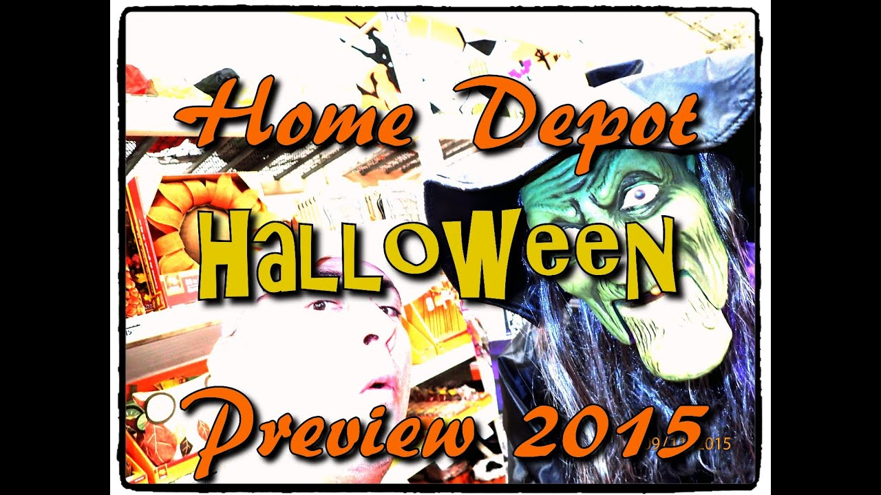 Home Depot - Halloween 2015 Preview - YouTube