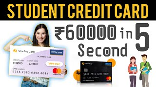 Student Credit Card SlicePay, Free Credit Card Apply, How to Get Student Loan using App With Proof