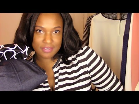 Spring Fashion Haul 2015: H&M, Forever 21 & New York Company {Business Casual}