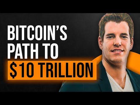 Cameron \u0026 Tyler Winklevoss: Bitcoin Path To $10 Trillion Market Cap
