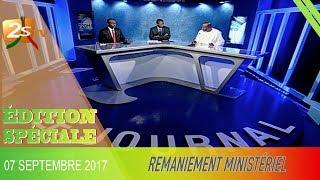 ÉDITION SPÉCIALE : REMANIEMENT MINISTÉRIEL DU 07 SEPTEMBRE 2017