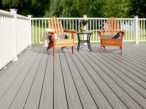How To Build A Decking Over Existing Concrete Patio Youtube