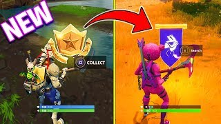 SECRET BANNER WEEK 10 SEASON 6 LOCATION! Fortnite Battle Royale WEEK 10 SECRET BATTLE STAR REPLACED