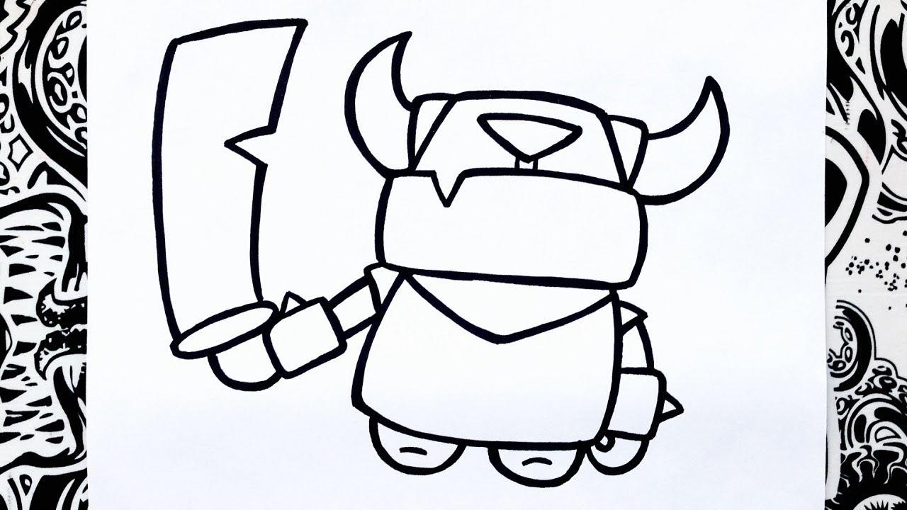 como dibujar a mini pekka how to draw mini pekka como