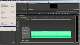 Создание аудиозаписи, Видеоурок № 1, Adobe Premiere Pro CS6, 28.02.2014
