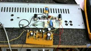 Continuing work on the DX amp (part 2)