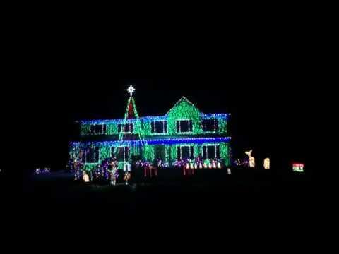 2018 Christmas Light Show to