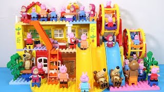Lego House With Water Slide Building Toys - Lego Creations Toys For Kids #2