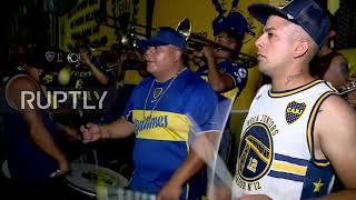Argentina: Fans flood Buęnos Aires ahead of River vs Boca clash