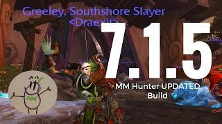 NEW Marksman Hunter 7.1.5 UPDATED/ALTERNATIVE Talents, Stat Priority, and Opening Rotation