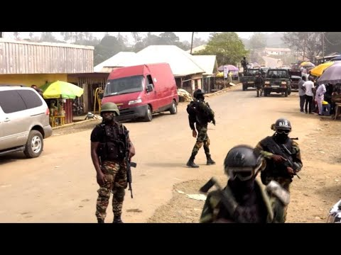 Amnesty warns of 'horrific' violence in Cameroon's anglophone regions