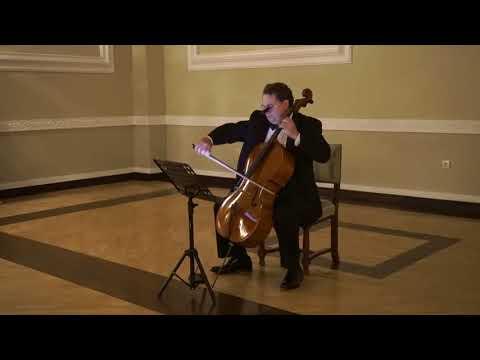 Jeffrey Lastrapes, cello -  J.S. Bach - Cello Suite No. 2 Cetinje, Mne  20.10.17