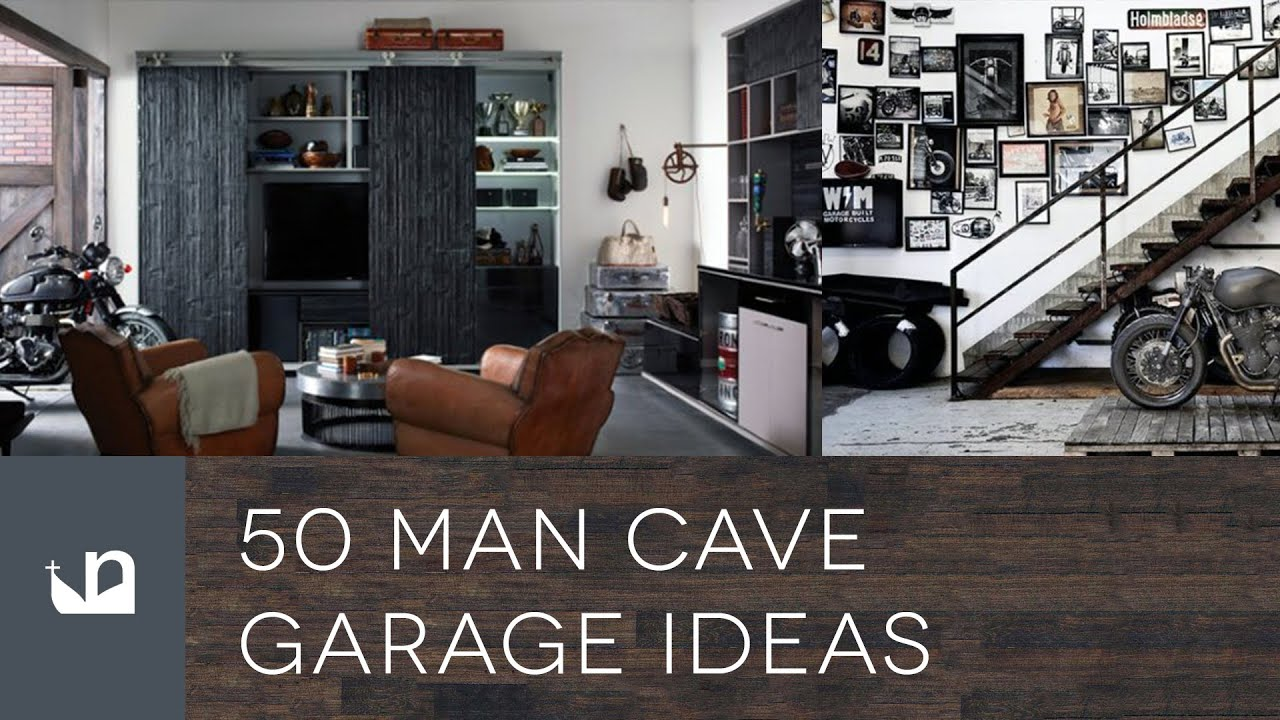 Apartment Style 50 Man Cave Garage Ideas Youtube