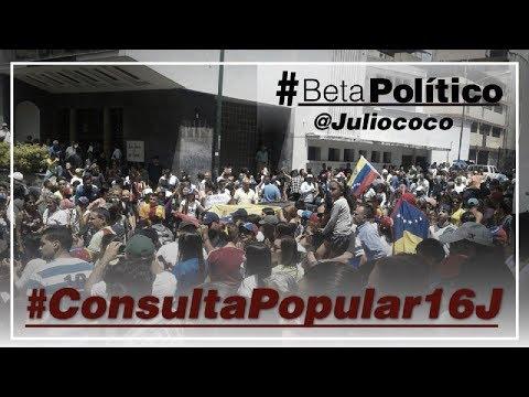 #BetaPolítico #ConsultaPopular16J