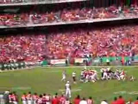 KC Chiefs beating the Chargers 2006