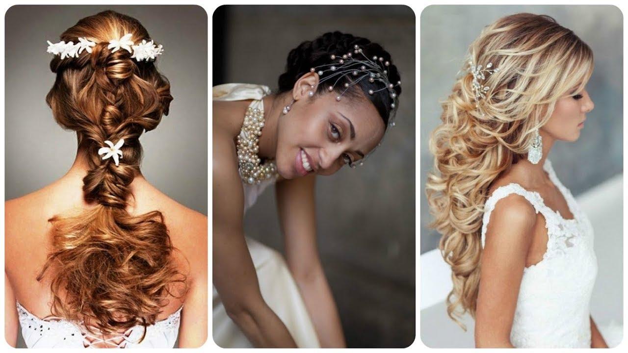Niesamowite Pomysły Na Fryzury ślubne Z Kręconych Włosów