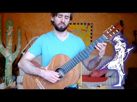 Final Fantasy 4 / IV Guitar Cover - Theme of Love - Sam Griffin