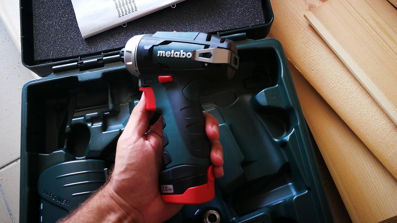 METABO POWERMAXX LI 7.2V DRILL DRIVERS DOWNLOAD