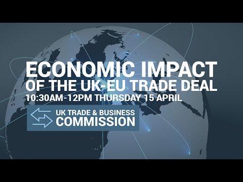 Evidence session on economic impact of new UK-EU trade relations