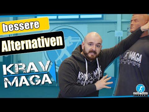 5 überschätzte Schläge zur Selbstverteidigung (& bessere Alternativen) Krav Maga Technik Deutsch