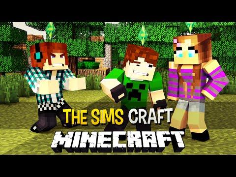 The Sims Craft Ep.25 - A Namorada do Caue - Minecraft