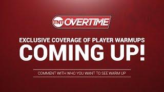 TNT OT Pregame Warmups: Celtics vs Timberwolves