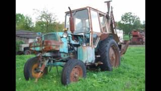 Заброшенная сельхоз техника