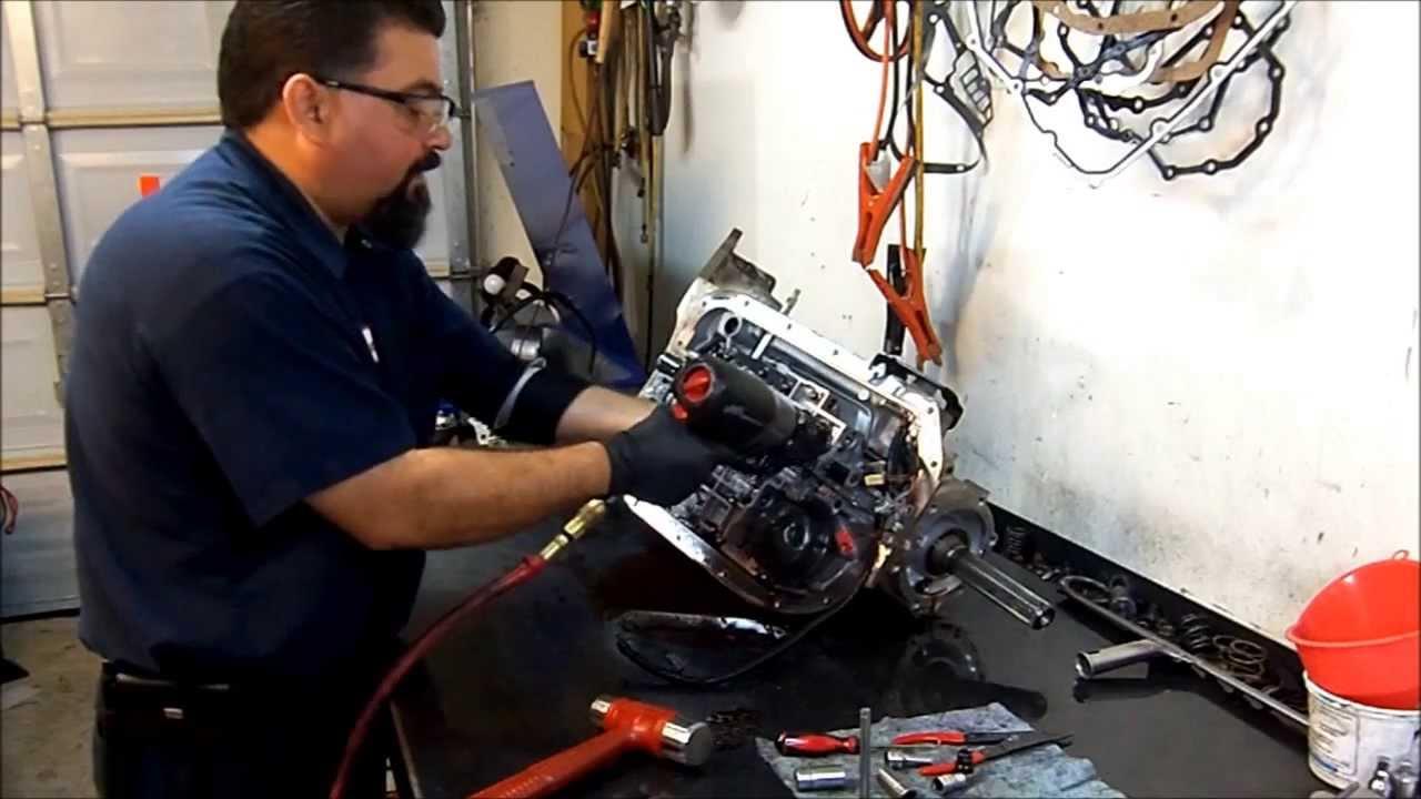 4L80E Transmission Teardown Inspection  Transmission Repair  YouTube