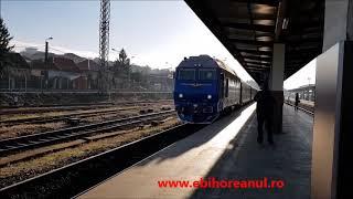 Primul tren direct de la Oradea la Viena a plecat duminică dimineața din Gara Centrală