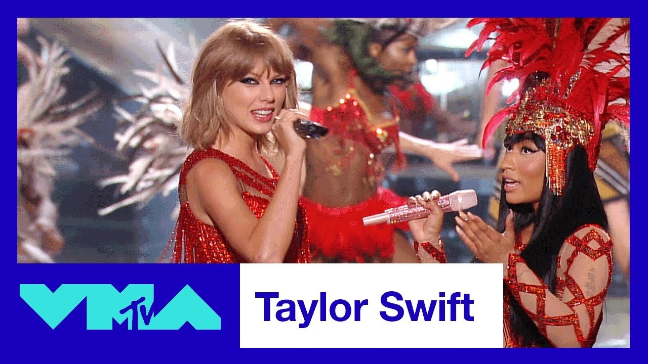 Taylor Swift S Best Vma Moments 2017 Video Music Awards Mtv Youtube