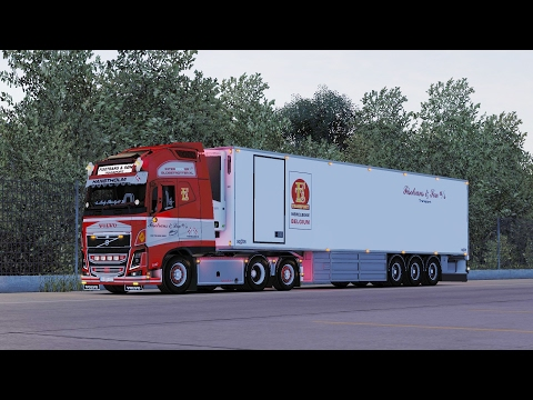 ETS 2 1.26 ProMods 2.15 Volvo FH16  Bremerhaven - Bruxelles