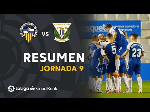 Sabadell CE Leganes Goals And Highlights