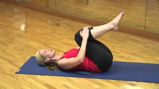 Yoga Knees to Chest Pose