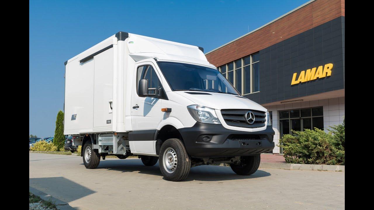 Mercedes Sprinter 4x4 Zabudowa Kontenerowa Lamar I Insulated Containers
