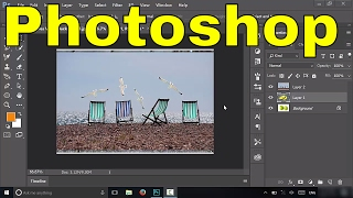 How To Resize A Layer-Easy Photoshop Tutorial