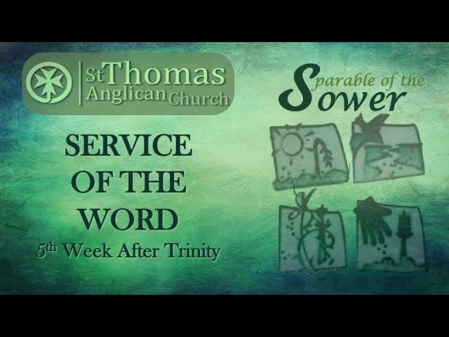 Trinity 5   Service