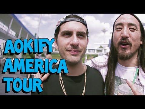 Aokify America Tour Recap #2 - On The Road w/ Steve Aoki #78