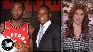Raptors GM made gambles that would 'make a bookie blush,' and he won - Rachel Nichols | The Jump