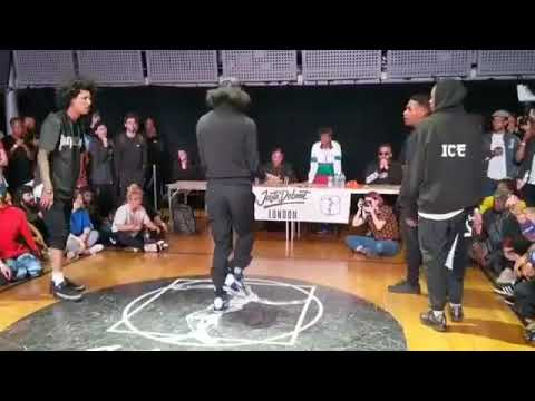 LAURENT - Les TWINS vs Shin & Ice 2019