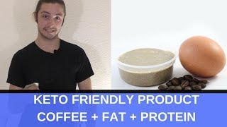 High Fat High Protein Keto & Zero Carb Coffee On The Go || Ketogeek Coffee Protein Energy Pod