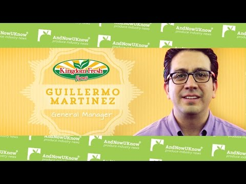 Kingdom Fresh's Guillermo Martinez Discusses New Organic Grape Tomatoes and Growth
